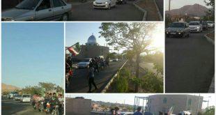رژه موتوری به مناسبت عید غدیر در خانیک -فیلم